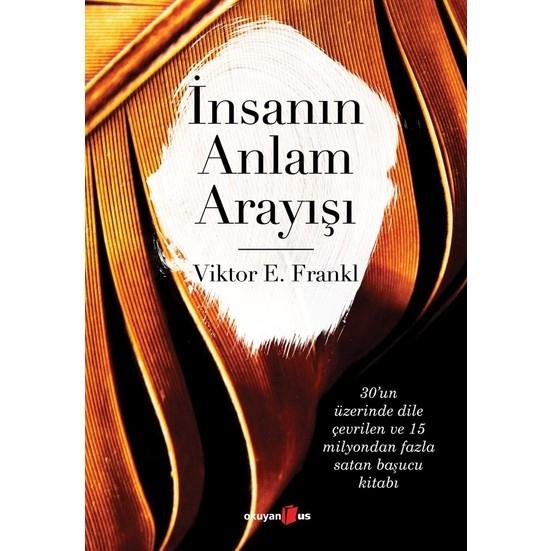 Kitap Önerisi: İnsanın Anlam Arayışı (Viktor E. Frankl)